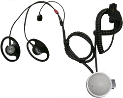 CBRNe Headset with P-T-T, Compatible with SCBA/PPE
