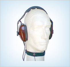 HS-9TM | Throat Mic and Dual Ear Muffs